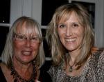 Mega organizer Liz with her mom