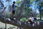 Huntington Beach Central Park is always fun - summer or not
