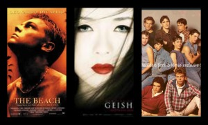 The Beach, Memoirs of A Geisha, The Outsiders